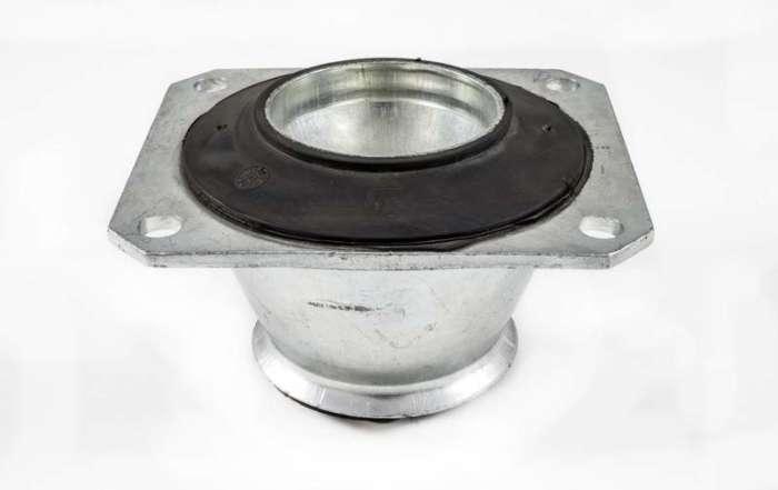 anti vibration metal rubber conical mounts CONO Patrini