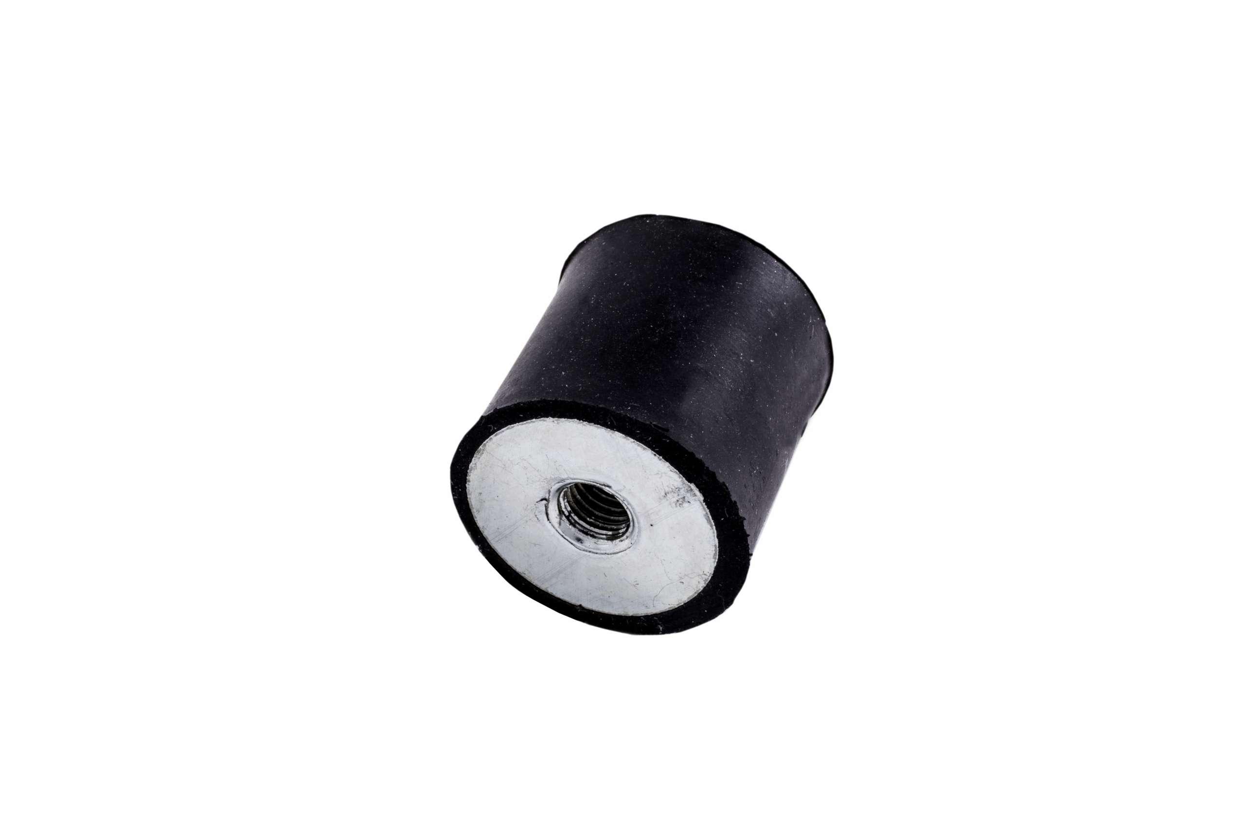 Supporto antivibrante cilindrico in gomma metallo C Patrini
