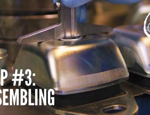 Step #3: Assembling of Anti-vibration Mounts Patrini
