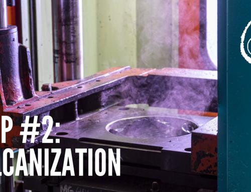 Step #2: Vulcanization Antivibration Patrini
